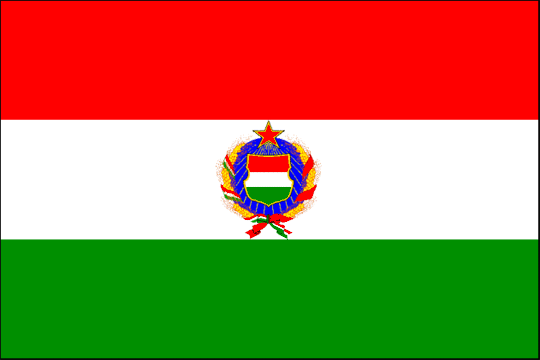 state flag People's Republic of Hungary