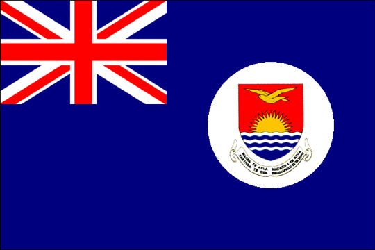 state flag Gilbert Islands