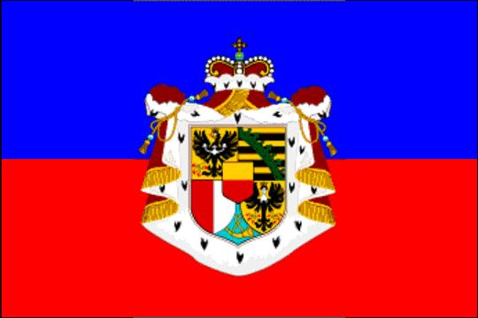 state flag Principality of Liechtenstein