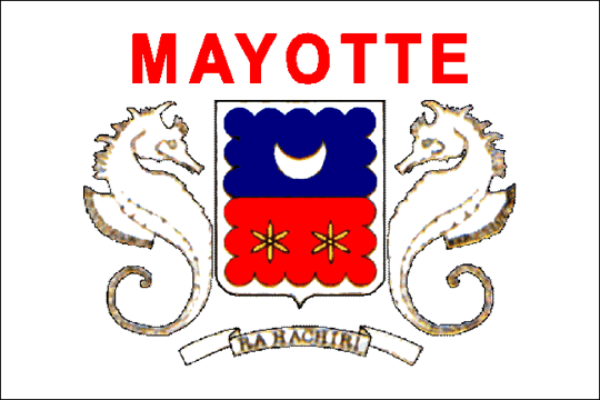 state flag Departmental Collectivity of Mayotte