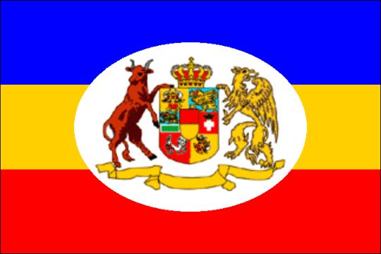 state flag Grand Duchy of Mecklenburg-Schwerin