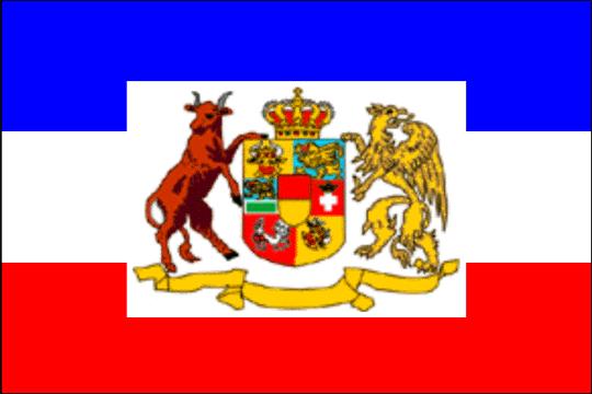 state flag Mecklenburg-Strelitz