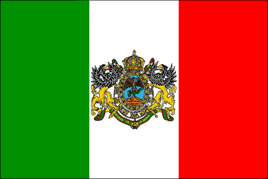 state flag Mexican Empire
