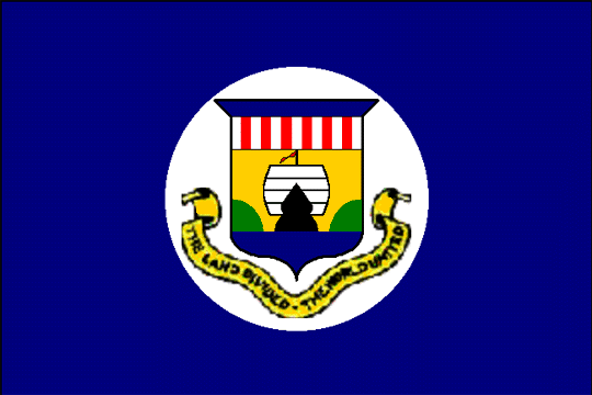 state flag Panama Canal Zone