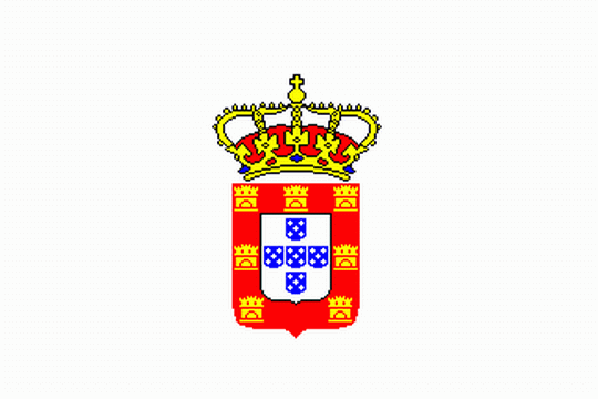 state flag Kingdom of Portugal and Algarves
