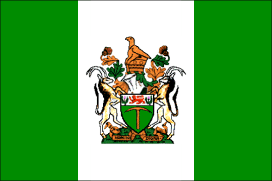 state flag Republica of Rhodesia