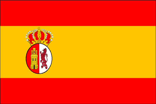 state flag Kingdom of Spain 1st