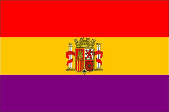 state flag Spanish Republic 2dn
