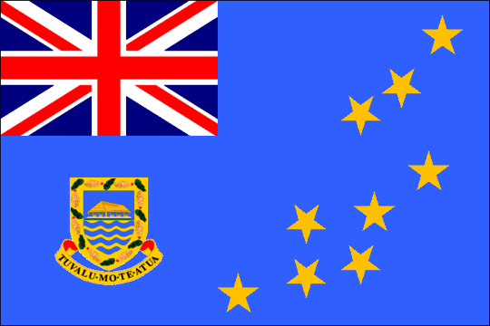 state flag Constitutional Monarchy of Tuvalu