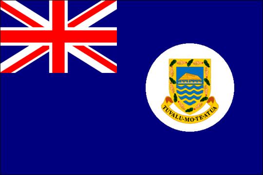 state flag British Tuvalu
