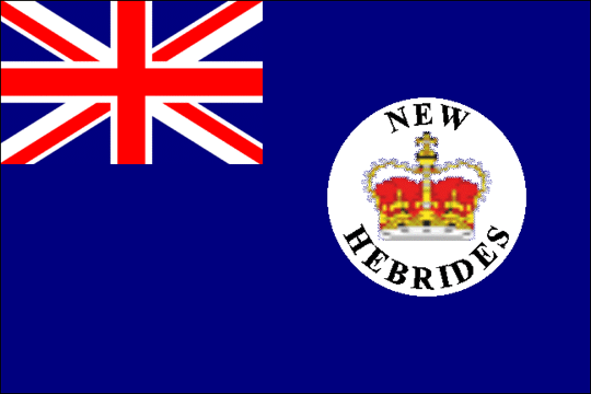 state flag New Hebrides